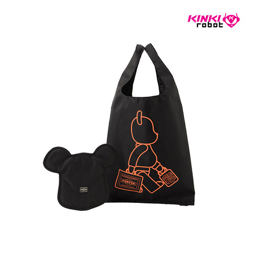 BEARBRICK X PORTER TOTE BAG & POUCH
