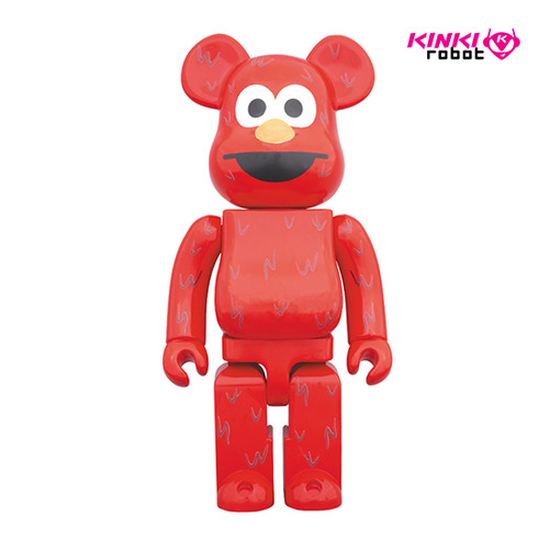 1000% BEARBRICK ELMO