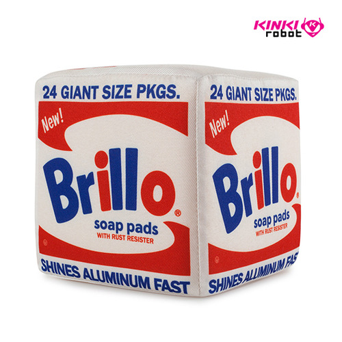 Andy Warhol Brillo Box Plush(M)