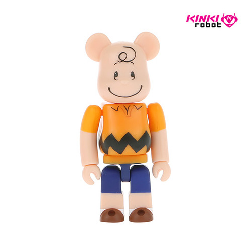 100%BEARBRICK CHARLIE BROWN