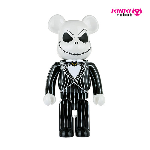1000%BEARBRICK JACK SKELLINGTON