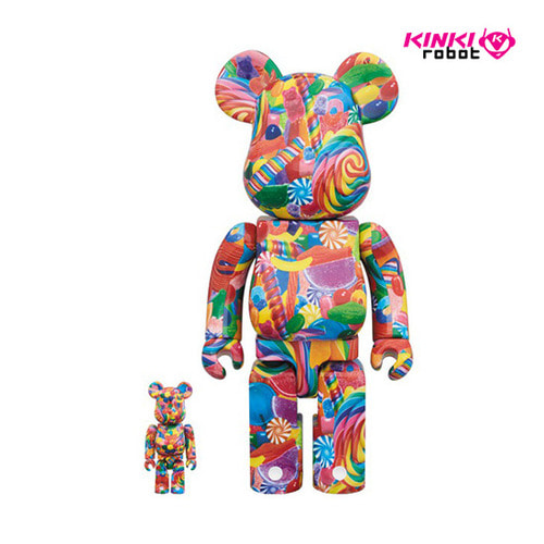 400%+100%, 1000%BEARBRICK DYLAN'S CANDY BAR (프리오더)