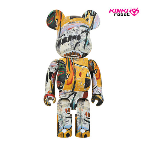 1000%BEARBRICK JEAN-MICHEL BASQUIAT