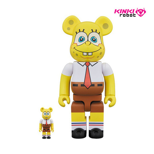 400%+100%, 1000%BEARBRICK SPONGEBOB(프리오더)