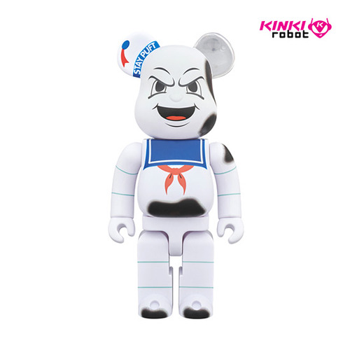 400%BEARBRICK STAY PUFT MARSHMALLOW MAN_ANGER FACE (프리오더)