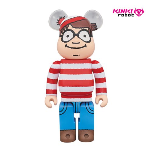 400%BEARBRICK WALLY