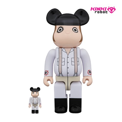 400%+100%BEARBRICK ALEX
