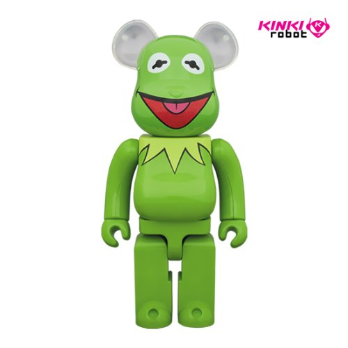 1000%BEARBRICK KERMIT THE FROG