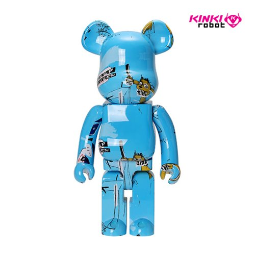 1000%BEARBRICK JEAN MICHEL BASQUIAT #4