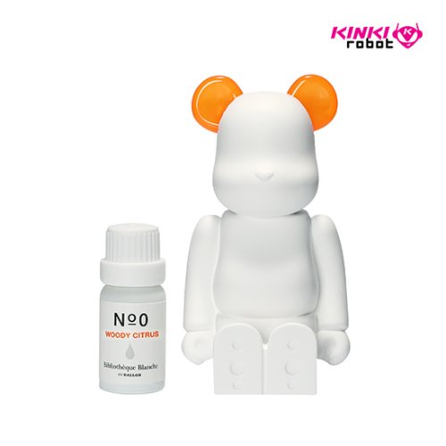 BEARBRICK AROMA ORNAMENT NO.0 COLOR ORANGE