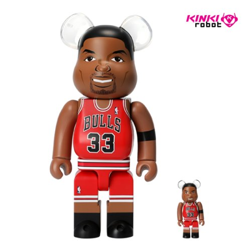 400%+100%BEARBRICK SCOTTIE PIPPEN (CHICAGO BULLS)