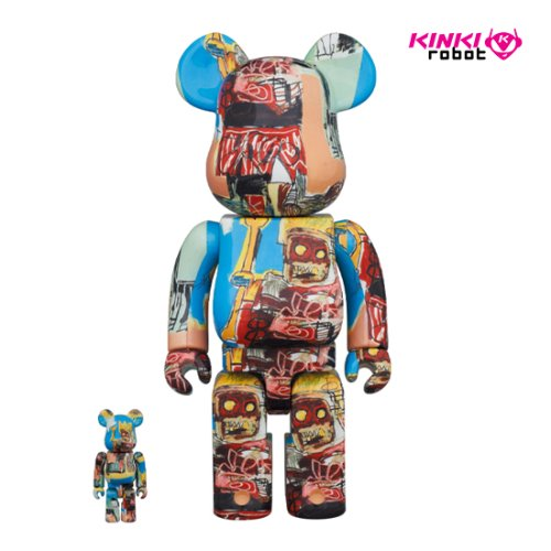 400%+100%BEARBRICK JEAN MICHEL BASQUIAT #6