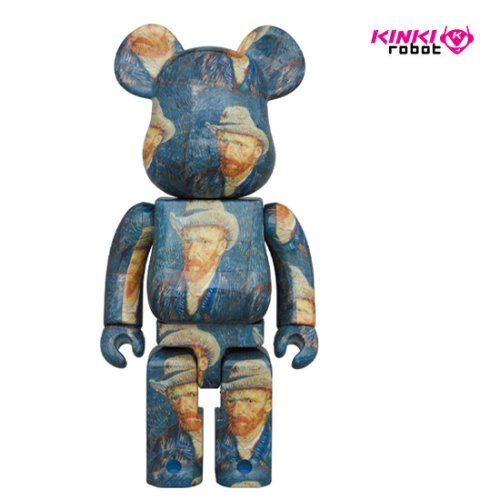 1000% BEARBRICK VAN GOGH MUSEUM SELF PORTRAIT