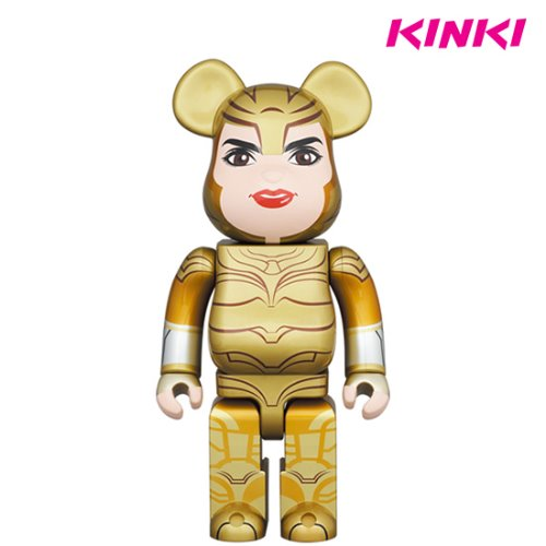 400%BEARBRICK WONDER WOMAN GOLDEN ARMOR (프리오더)