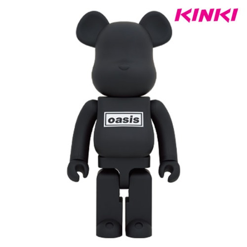1000% BEARBRICK OASIS BLACK RUBBER COATING