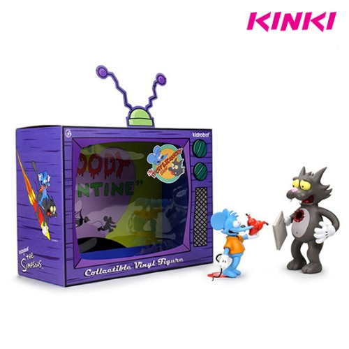 [재입고]THE SIMPSONS ITCHY AND SCRATCHY MEDIUM FIGURE - ORIGINAL