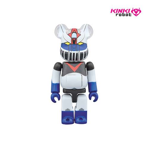 100% BEARBRICK KATTOBI GREAT MAZINGER