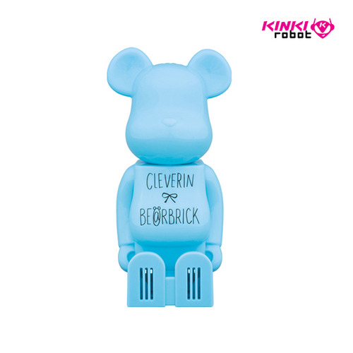 BEARBRICK CLEVERIN SKYBLUE