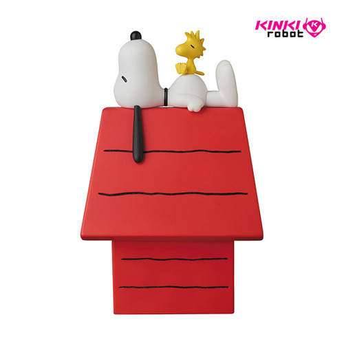 VCD SNOOPY with WOODSTOCK and dog house