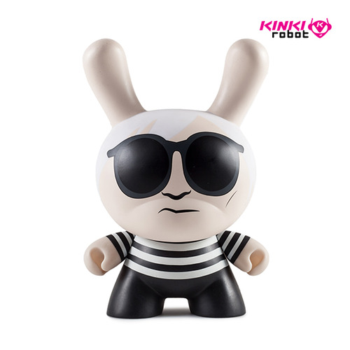 "8""Dunny Andy Warhol Masterpiece"
