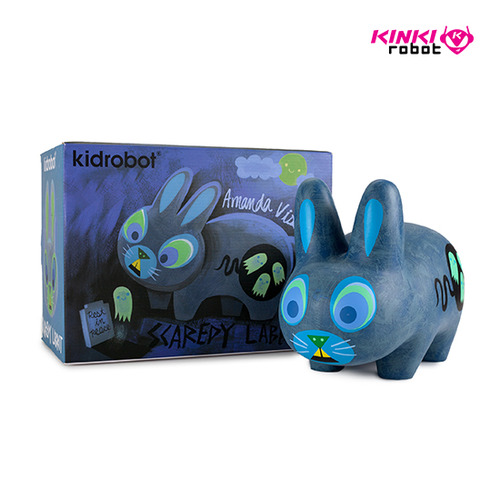 SCAREDY LABBIT BY AMANDA VISELL 10""