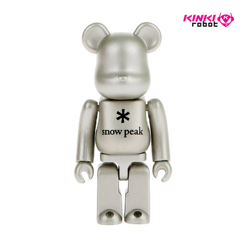 100%BEARBRICK SNOW PEAK