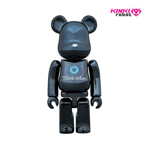 100%, 400%BEARBRICK I AM OTHER BLACK VER (프리오더)