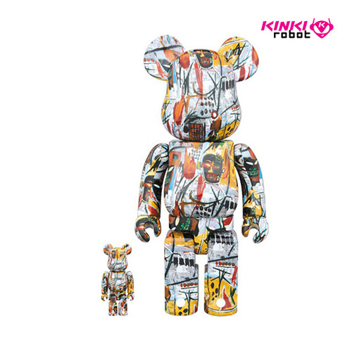 400%+100%, 1000%BEARBRICK JEAN-MICHEL BASQUIAT(프리오더)