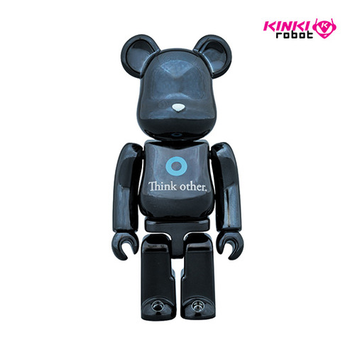 100%BEARBRICK I AM OTHER BLACK VER