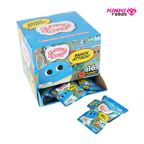 YUMMY WORLD KEYCHAIN SERIES-SNACK ATTACK (단품)