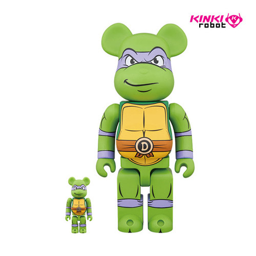 400%+100%BEARBRICK DONATELLO (프리오더)