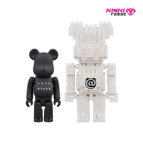 BEARBRICK x NANOBLOCK 2PACK B SET (프리오더)