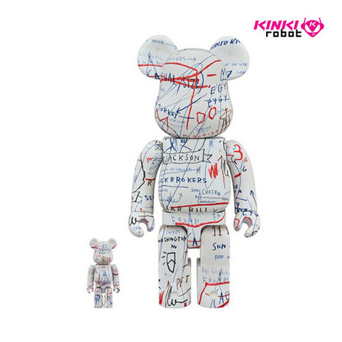400%+100%, 1000%BEARBRICK JEAN-MICHEL BASQUIAT #2(프리오더)