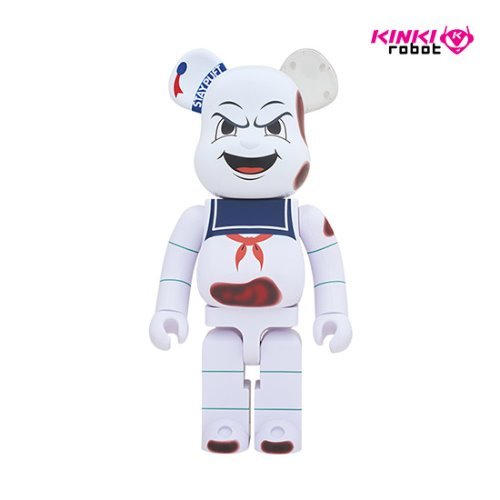 1000%BEARBRICK STAY PUFT MARSHMALLOW MAN_ANGER FACE (프리오더)