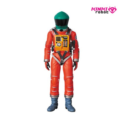 MAFEX SPACE SUIT GREEN HELMET & ORANGE SUIT (프리오더)