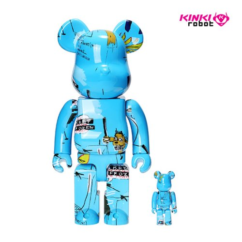 400%+100%BEARBRICK JEAN MICHEL BASQUIAT #4