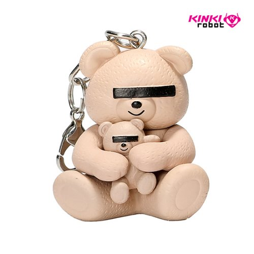 UNDERCOVER BEAR KEYCAHIN (PINK)