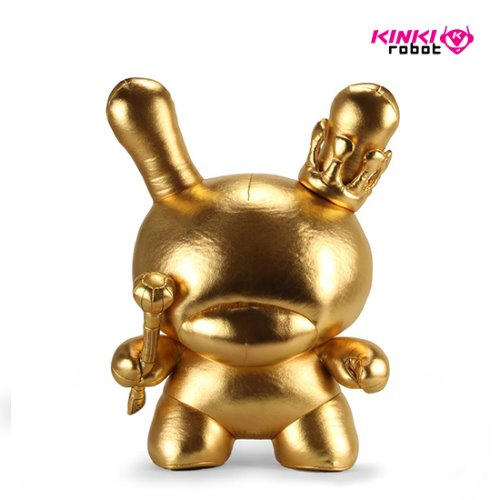 "20"" PLUSH GOLD KING DUNNY BY TRISTAN EATON"