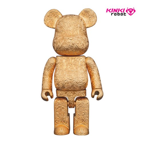 400%BEARBRICK ROYAL SELANGOR ARABESQUE GOLDEN (프리오더)