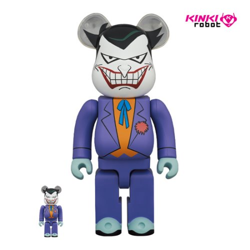 400%+100%, 1000%BEARBRICK JOKER (BATMAN THE ANIMATED SERIES VERSION) (프리오더)