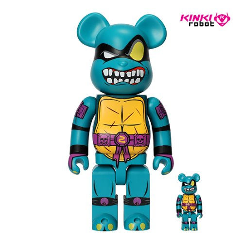 400%&100%BEARBRICK SLASH