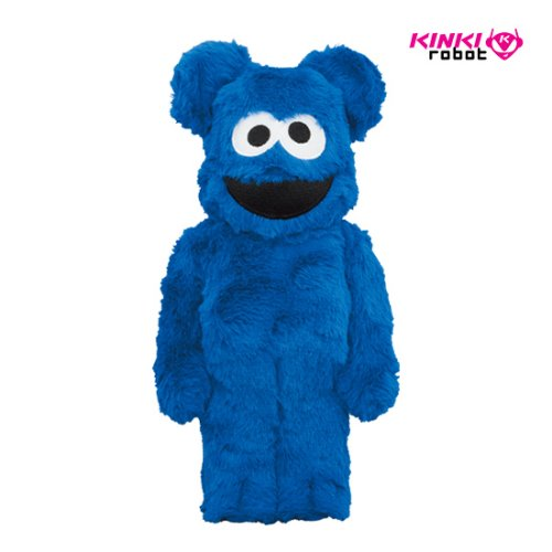 400% BEARBRICK Cookie Monster Costume ver. (프리오더)