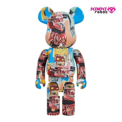 1000%BEARBRICK JEAN MICHEL BASQUIAT #6