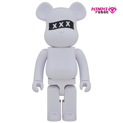 1000%BEARBRICK GOD SELECTION XXX WHITE