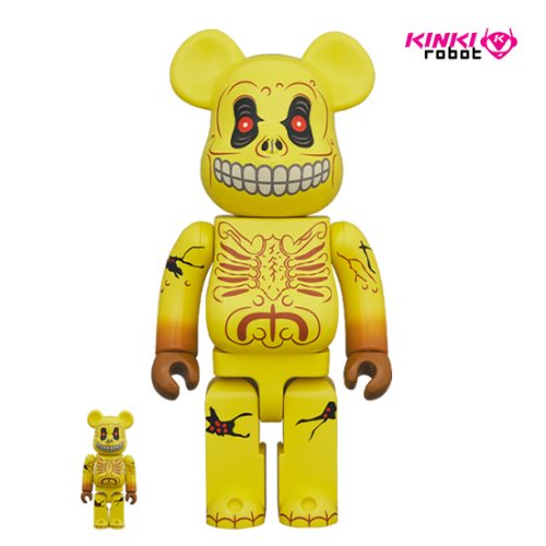 400%+100%BEARBRICK SKULL FACE
