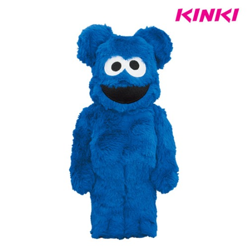 400% BEARBRICK COOKIE MONSTER COSTUME VER.