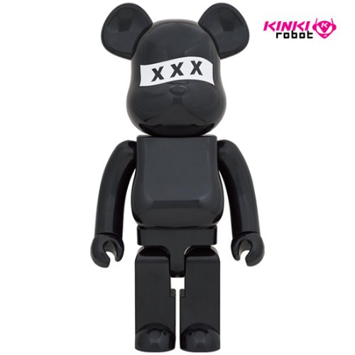 1000%BEARBRICK GOD SELECTION XXX BLACK