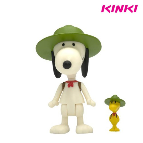 PEANUTS REACTION W3 - BEAGLE SCOUT SNOOPY