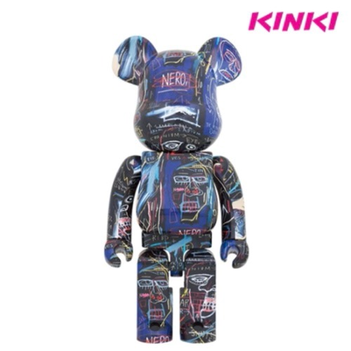 1000%BEARBRICK JEAN-MICHEL BASQUIAT # 7