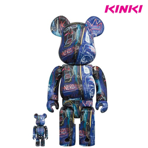 400%+100%BEARBRICK JEAN-MICHEL BASQUIAT # 7
